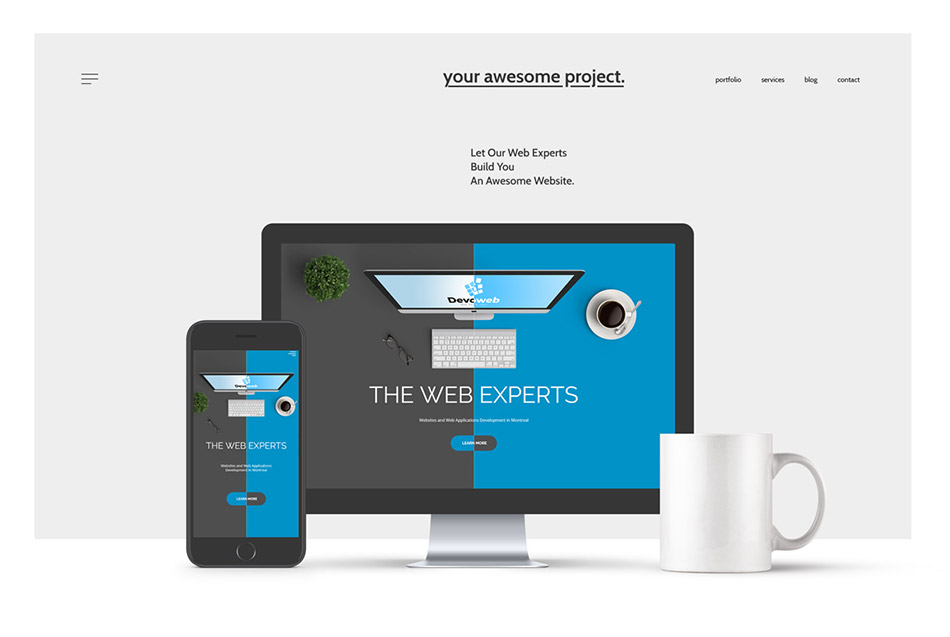 Websites service for businesses